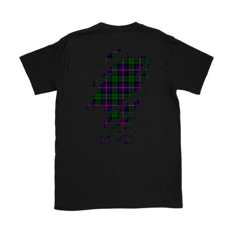 Image of Morrison Modern Lives in me Tartan T Shirt K7