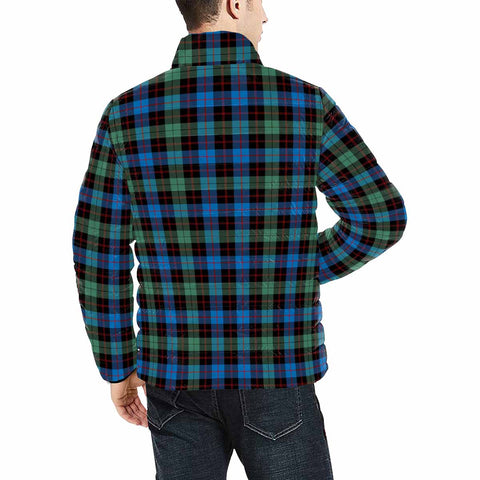 Image of Guthrie Ancient Clan Scotland Tartan  Men's Lightweight Bomber Jacket K9