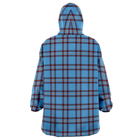 Elliot Ancient Snug Hoodie - Unisex Tartan Plaid Back