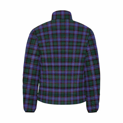 Hunter Modern Clan Scotland Tartan  Men's Lightweight Bomber Jacket K9