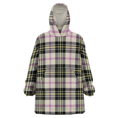 MacPherson Dress Ancient Snug Hoodie - Unisex Tartan Plaid Front