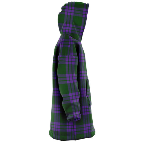 Elphinstone Snug Hoodie - Unisex Tartan Plaid Right