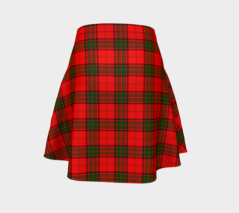 Tartan Flared Skirt - Adair |Over 500 Tartans | Special Custom Design | Love Scotland