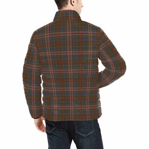 Kennedy Weathered Clan Scotland Tartan  Men's Lightweight Bomber Jacket K9