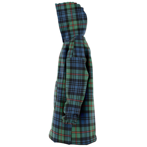 MacKinlay Ancient Snug Hoodie - Unisex Tartan Plaid Left