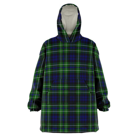 Image of MacNeil of Colonsay Modern Snug Hoodie - Unisex Tartan Plaid Front