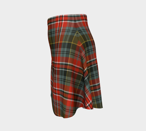 Image of Tartan Flared Skirt - MacPherson Weathered A9