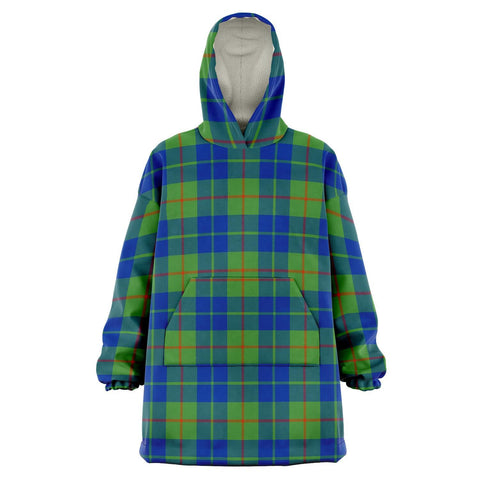 Barclay Hunting Ancient Snug Hoodie - Unisex Tartan Plaid Front