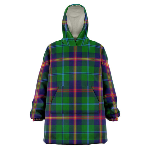 Young Modern Snug Hoodie - Unisex Tartan Plaid Front