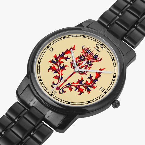 Image of Fraser Modern Tartan Thistle Black Watch TH8 T