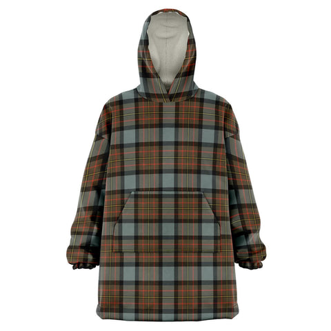 Image of MacLaren Weathered Snug Hoodie - Unisex Tartan Plaid Front