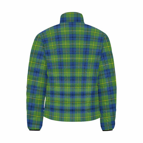 Johnston Ancient Clan Scotland Tartan  Men's Lightweight Bomber Jacket K9