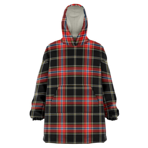 Norwegian Night Snug Hoodie - Unisex Tartan Plaid Front