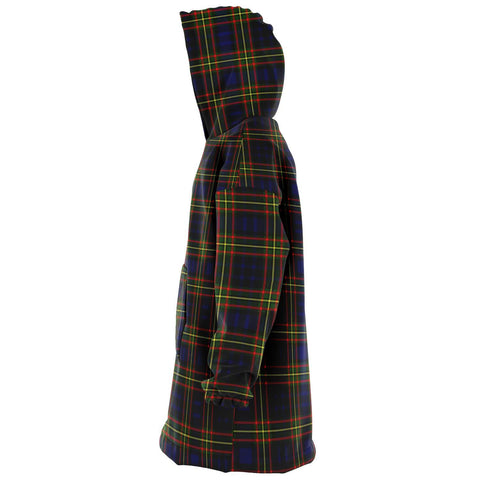 Image of Clelland Modern Snug Hoodie - Unisex Tartan Plaid Left