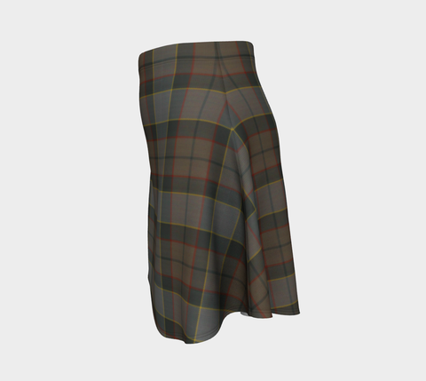 Image of Tartan Flared Skirt - Outlander Fraser A9