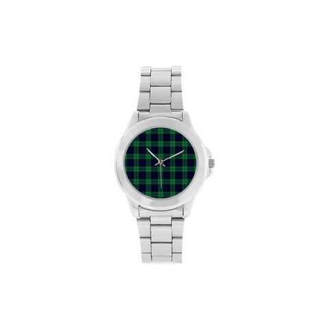Abercrombie Tartan Custom Gilt Watch K7