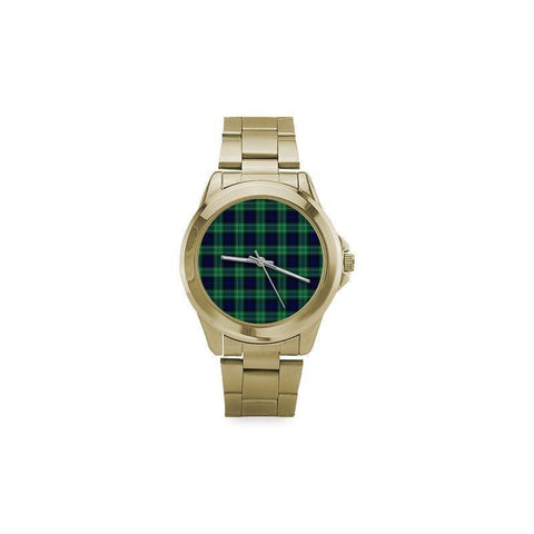 Abercrombie Tartan Custom Gilt Watch S8 One Size / Custom Gilt Watch Steel Watches