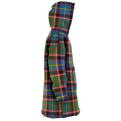 Stirling & Bannockburn District Snug Hoodie - Unisex Tartan Plaid Right