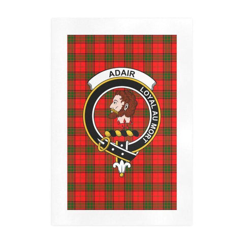Adair Clan Tartan Art Print | Tartan Decor | Hot Sale