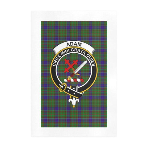 Adam Clan Tartan Art Print | Tartan Decor | Hot Sale