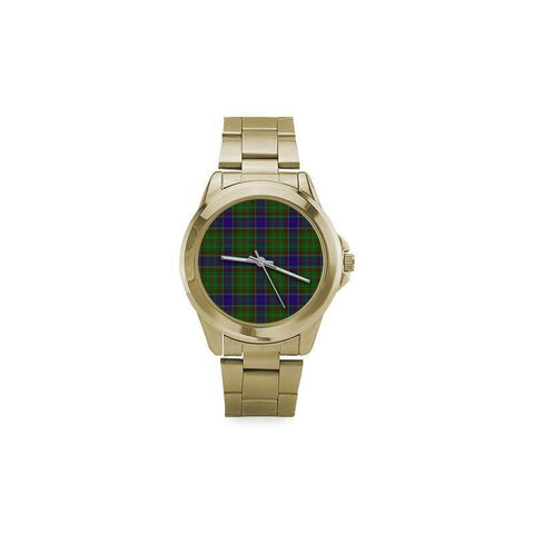 Image of Adam Tartan Custom Gilt Watch S8 One Size / Custom Gilt Watch Steel Watches