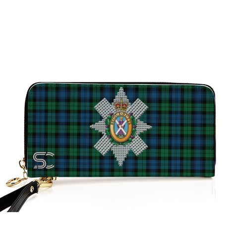 Blackwatch Ancient Crest Tartan Zipper Wallet