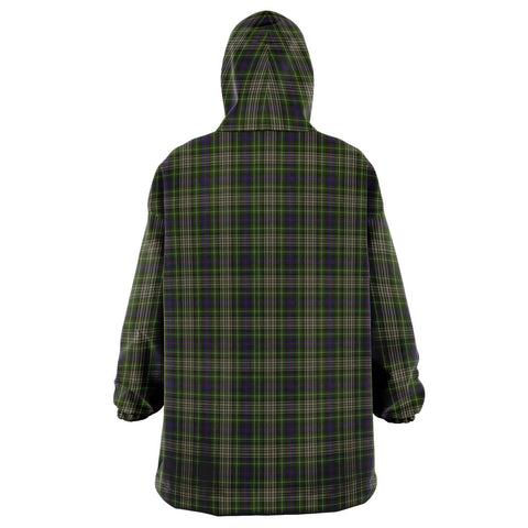 Davidson Tulloch Dress Snug Hoodie - Unisex Tartan Plaid Back