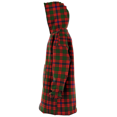 Image of Skene Modern Snug Hoodie - Unisex Tartan Plaid Left