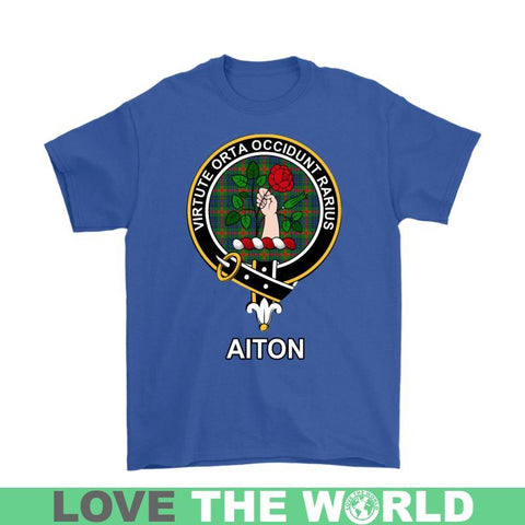 Aiton Clan Tartan T-Shirt | Over 500 Tartans and 300 Clans | Love Scotland