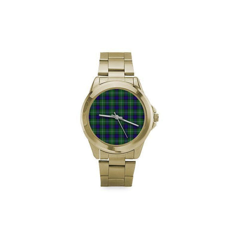 Image of Alexander Tartan Custom Gilt Watch S8 One Size / Custom Gilt Watch Steel Watches