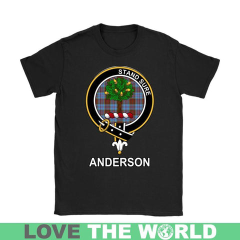 Anderson Clan Tartan T-Shirt | Over 500 Tartans and 300 Clans | Love Scotland