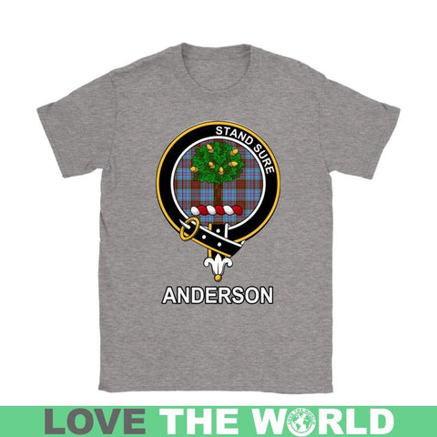 Image of Anderson Clan Tartan T-Shirt | Over 500 Tartans and 300 Clans | Love Scotland