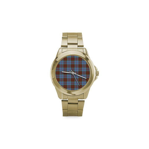 Image of Anderson Modern Tartan Custom Gilt Watch S8 One Size / Custom Gilt Watch Steel Watches