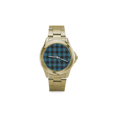 Image of Angus Ancient Tartan Custom Gilt Watch S8 One Size / Custom Gilt Watch Steel Watches