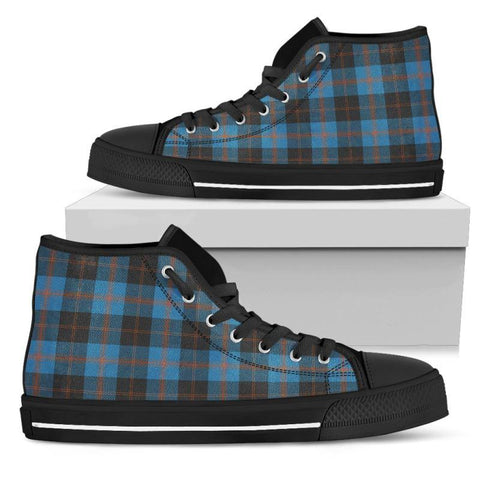 Tartan Canvas Shoes - Angus Ancient High Top | Over 500 Tartans