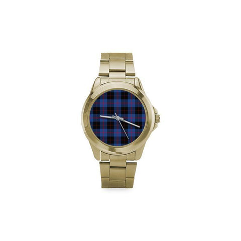 Image of Angus Modern Tartan Custom Gilt Watch S8 One Size / Custom Gilt Watch Steel Watches