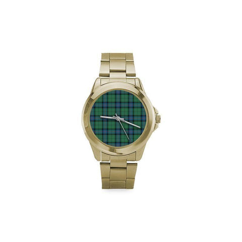 Image of Armstrong Ancient Tartan Custom Gilt Watch S8 One Size / Custom Gilt Watch Steel Watches