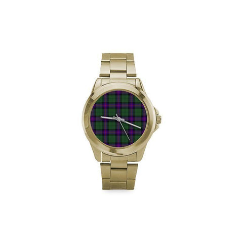 Image of Armstrong Modern Tartan Custom Gilt Watch S8 One Size / Custom Gilt Watch Steel Watches