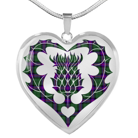 Armstrong Modern Tartan Luxury Necklace Luckenbooth Thistle TH8