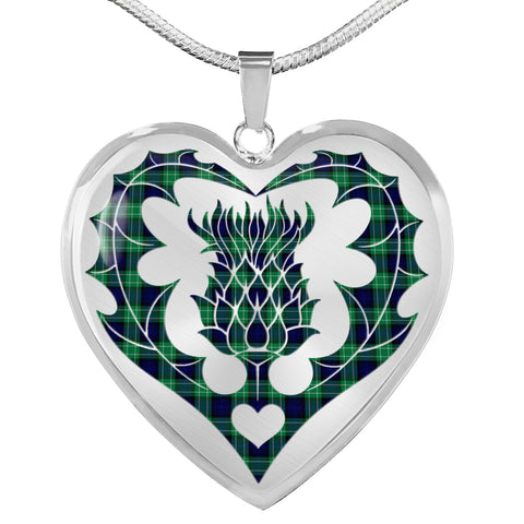 Abercrombie Tartan Luxury Necklace Luckenbooth Thistle TH8