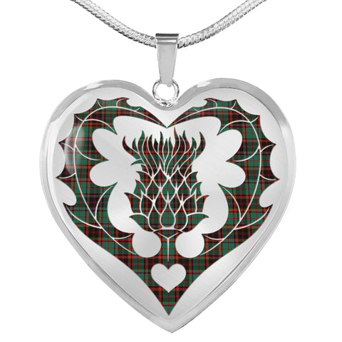 Buchan Ancient Tartan Luxury Necklace Luckenbooth Thistle TH8