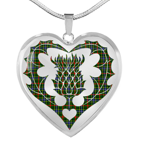 Bisset Tartan Luxury Necklace Luckenbooth Thistle TH8