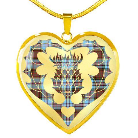 Anderson Ancient Tartan Luxury Necklace Luckenbooth Thistle TH8
