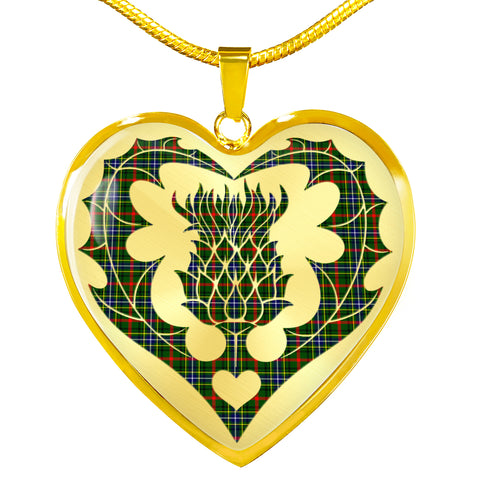 Image of Bisset Tartan Luxury Necklace Luckenbooth Thistle TH8