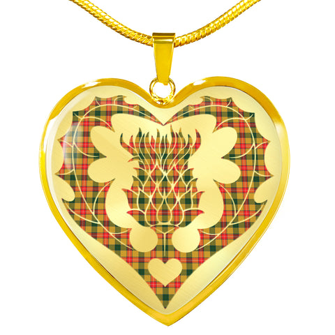 Baxter Tartan Luxury Necklace Luckenbooth Thistle TH8