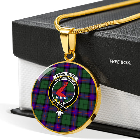 Image of Armstrong Modern Tartan Necklace
