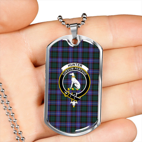Image of Hunter Modern  Dog Tag
