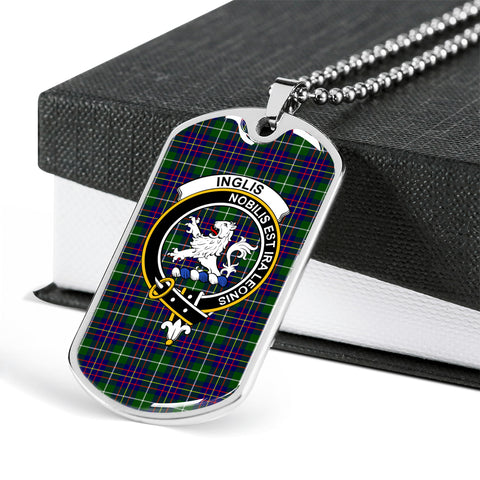 Image of Tartan Dog Tag