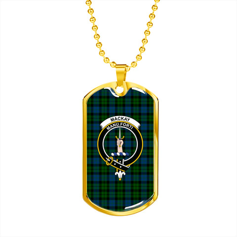 Image of MacKay Modern Tartan Dog Tag HJ4