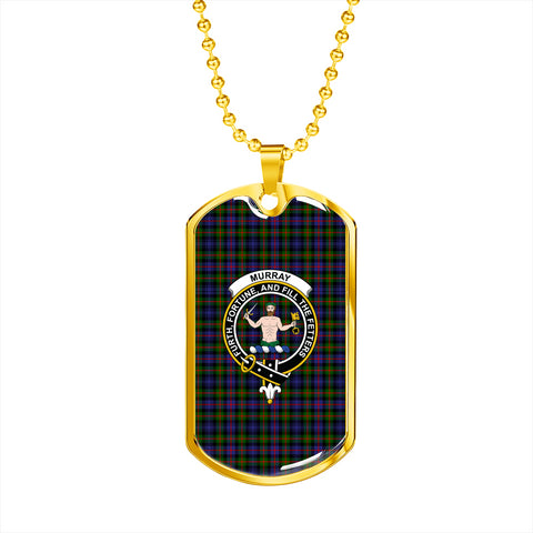 Murray of Atholl Modern Tartan Dog Tag HJ4